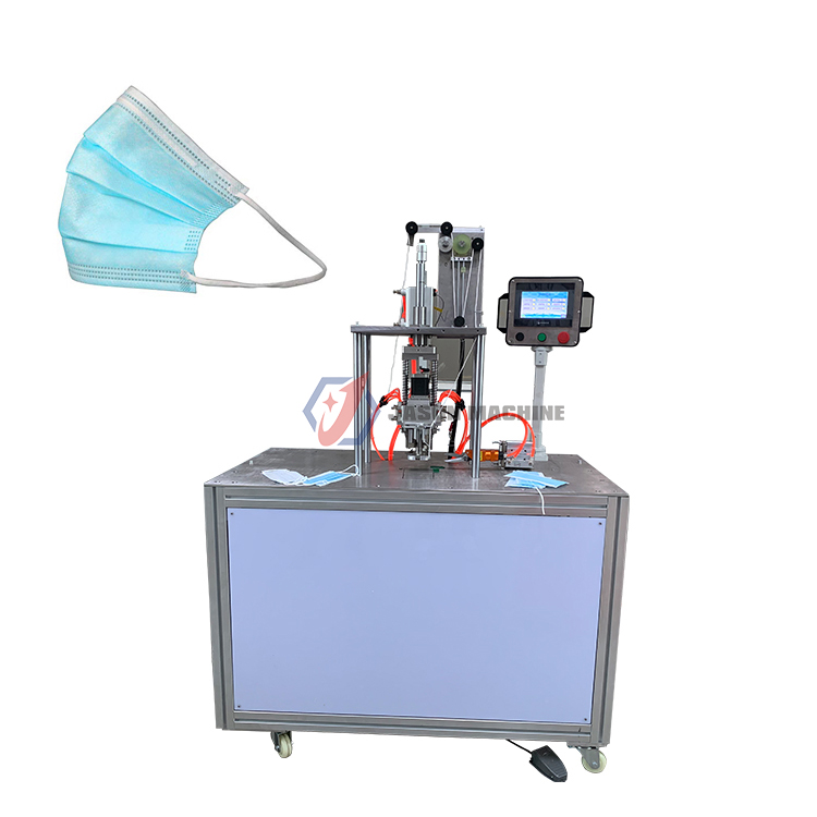 disposable ear loop face mask ear-loop mask making machine