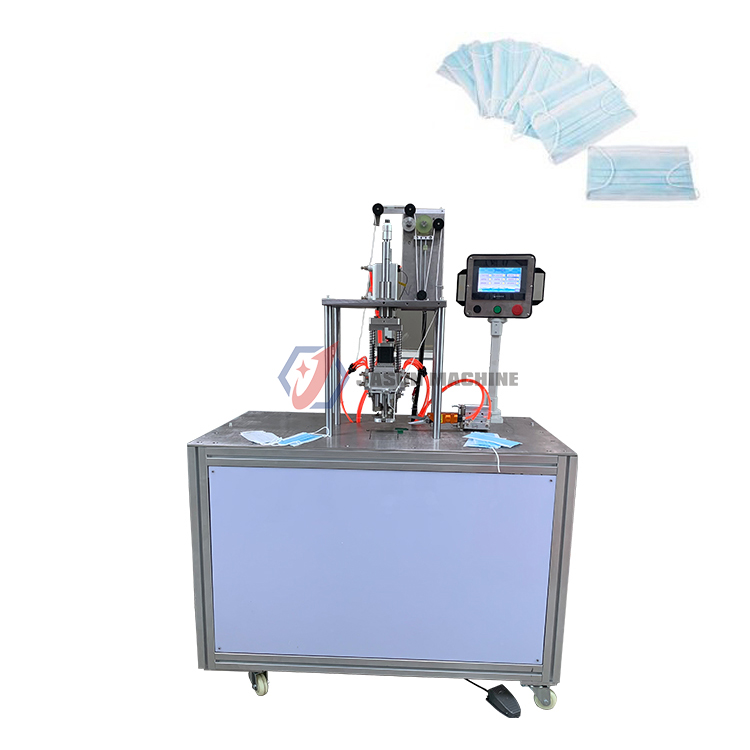 medical earloop surgical face mask ultrasonic face mask ear loop making machine