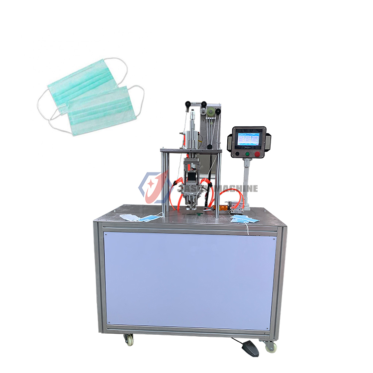 ultrasonic disposable 3 ply pleated earloop mask welding machine