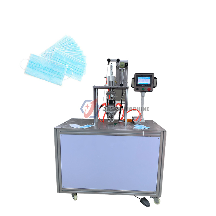 ultrasonic mask sewing machine face mask ear-loop spot welding machine