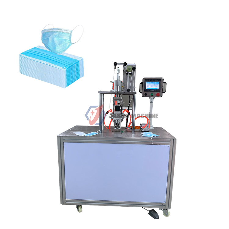 disposable ultrasonic non woven facemask earloop welding machine