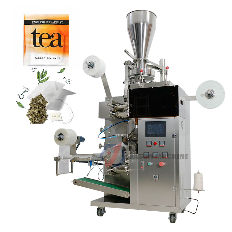 Automatic small tea bag filter paper tea powder sachet pouch packing machine