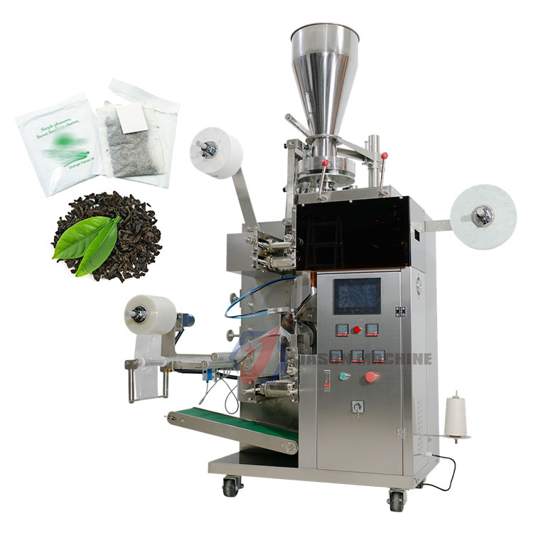 Automatic small scale filter paper fuso dip tea bag packing machine