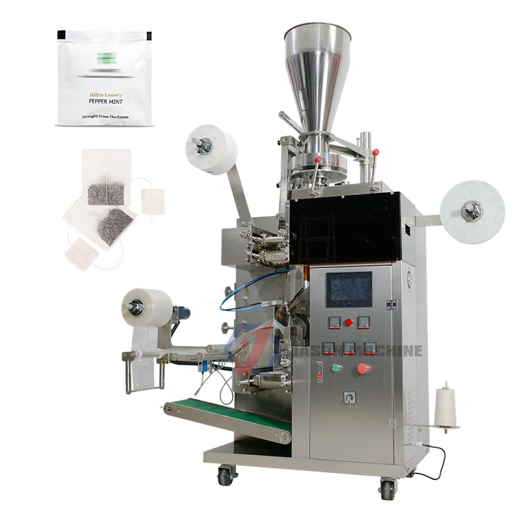 Automatic round small sachet tea bag packing machine price for small business