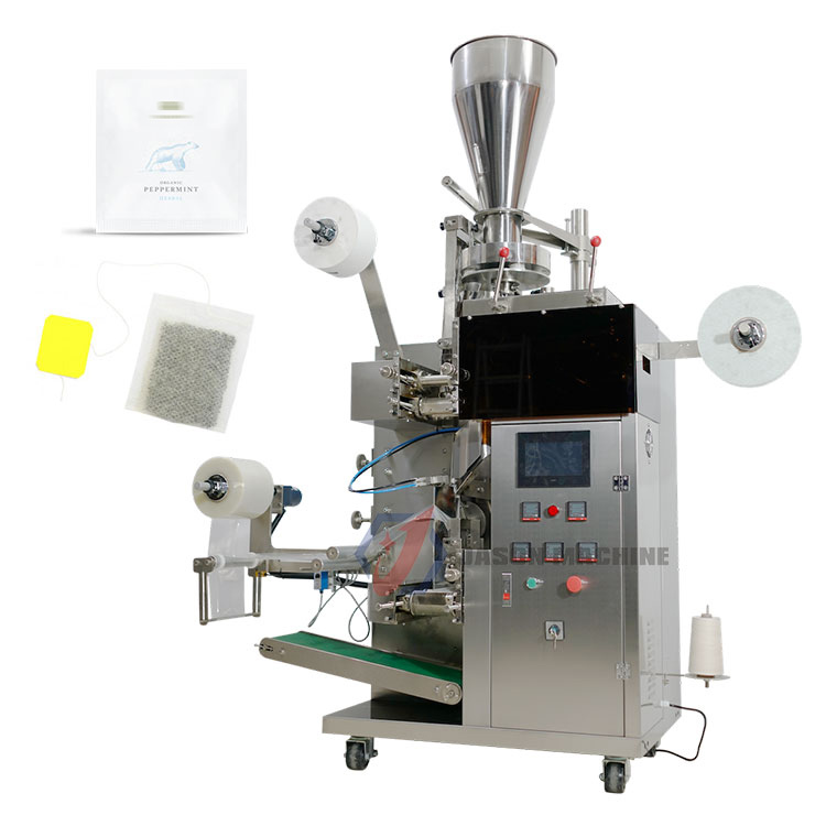 Full automatic drip coffee tea bag packing machine with inner and outer bag