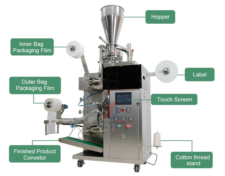 tea bag filling machine FACTORY