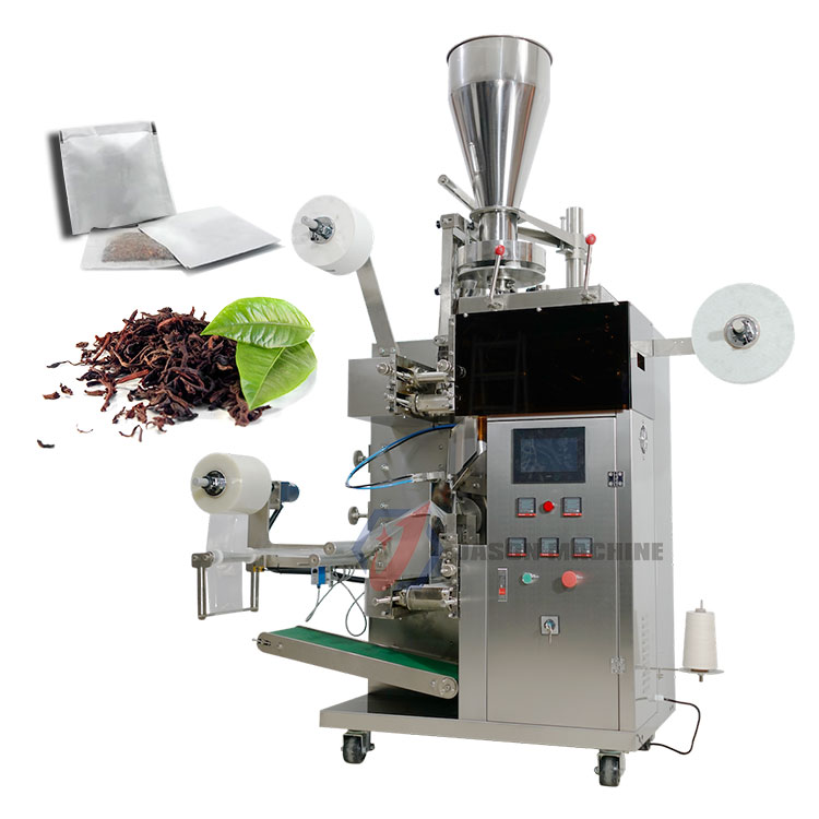 Automatic small tea powder filling and packing machine with inner and outer price