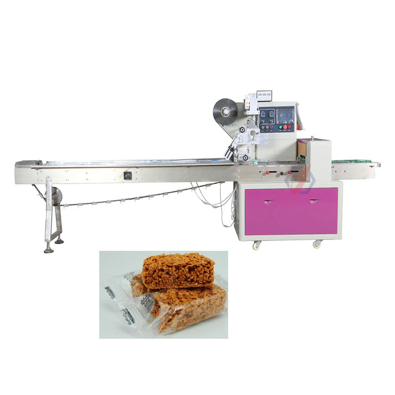 Automatic-Horizontal-Chocolate-Wafer-Cereal-Packing-Machine