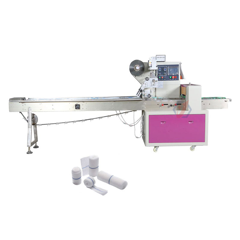 Automatic Plastic Bag Bandage Wrapping Machine