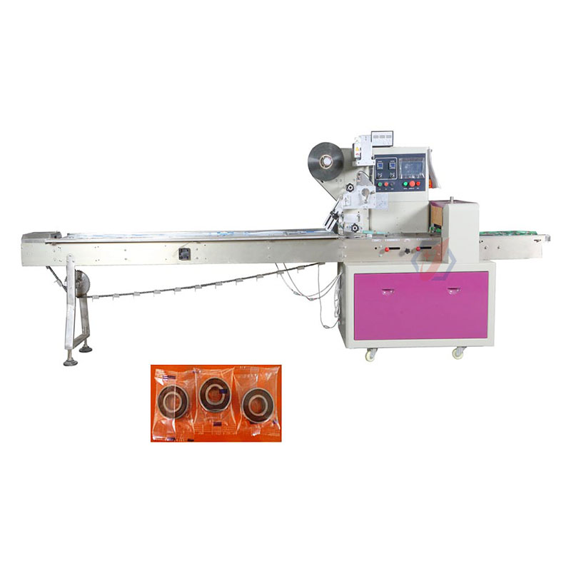Good Price Sweet Candy Packaging Machine / Peanut Brittle Hard Candy Chocolate Bar Pillow Packaging Machine
