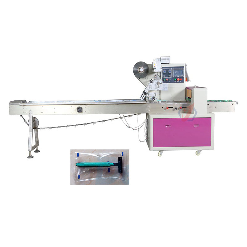Automatic Hotel Disposable Razors / Shaver Packing Machine