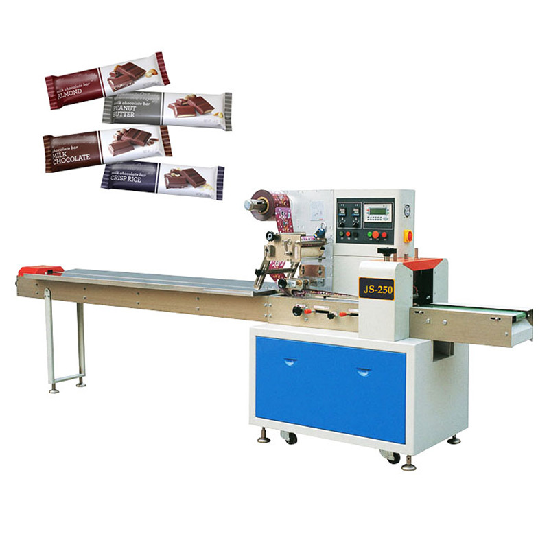 Automatic Small Chocolate Bar Wrapping Machine