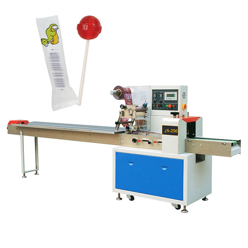 Automatic Horizontal Pouch Small Ball Lollipop Wrapping Machine