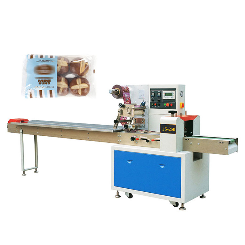 Automatic Pillow Bag Bread Cake Bun Packing Machine