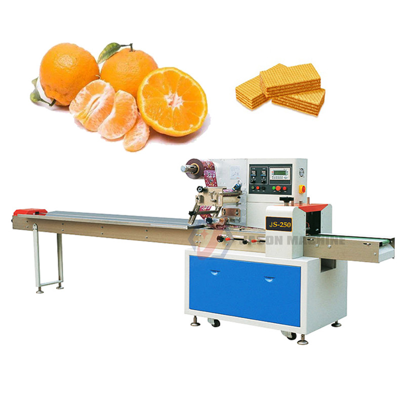 High Speed Low Price Multi-Function Citrus Cookies Packaging Machine